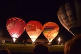 Nocna gala balonowa w Szczecinku. Widowisko światło i dźwięk zachwyciło [zdjęcia]
