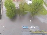Ostrzeżenie hydrologiczne dla województwa podlaskiego. Uwaga! Ostrzeżenie przed podtopieniami - gdzie jest burza?
