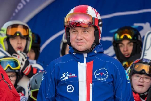 Zdjęcia z 12h Slalom Maratonu Narciarskiego zorganizowanego przed rokiem, czyli w lutym 2020