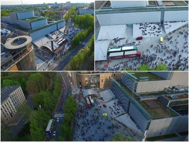 Studencki korowód na rozpoczęcie Dni Kultury Studenckiej w Lublinie