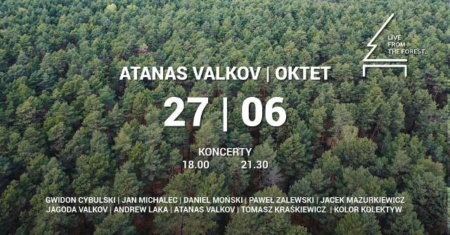 Koncert Atanas Valkov Oktet można będzie zobaczyć w mediach społecznościowych oraz na kanale YouTube