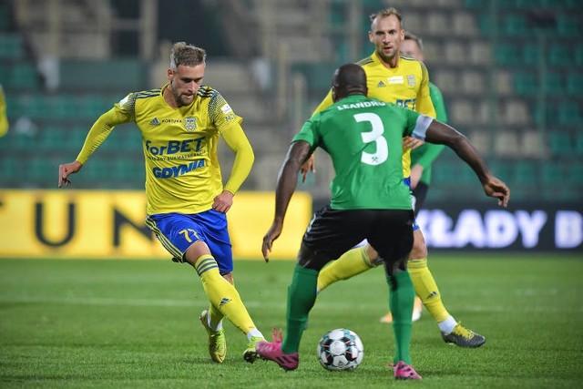 W rozgrywkach ligowych piłkarze Arki Gdynia przegrali z Górnikiem Łęczna 0:2. Jak będzie w Pucharze Polski?