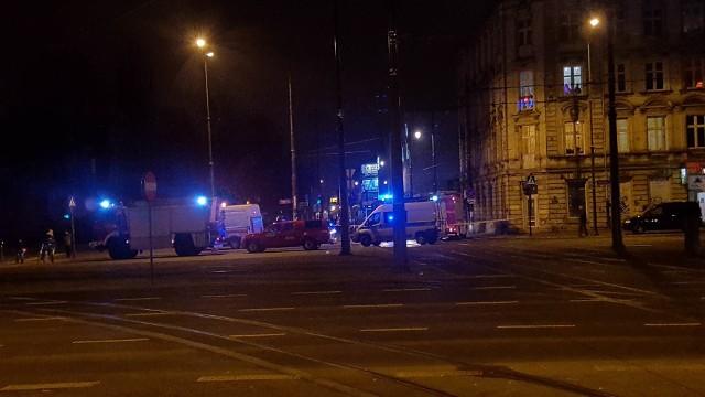 Śmiertelne potrącenie przez tramwaj na Kilińskiego w Łodzi
