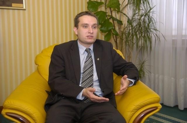 Mariusz Wiśniewski, szef PO na Nowym Mieście