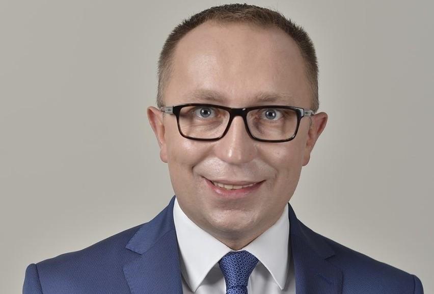 Artur Gierada, przewodniczący Platformy Obywatelskiej w Świętokrzyskiem.