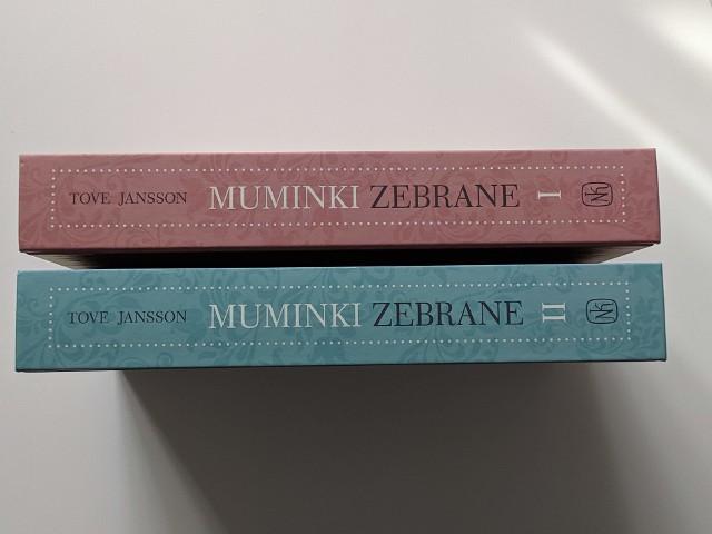 Nowe, pełne wydanie Muminków od Naszej Księgarni. Ta oprawa jest piękna!