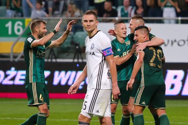 Legia przegrała we Wrocławiu