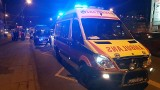Wypadek karetki na skrzyżowaniu marszałków w Łodzi. Ranni [ZDJĘCIA]