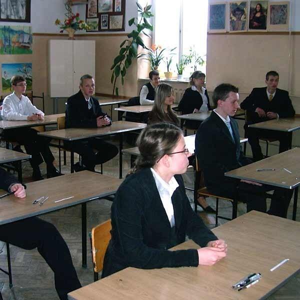 Gimnazjaliści z Sanoka mają przed sobą kilka nerwowych dni, bo decyzja Okręgowej Komisji Egzaminacyjnej będzie znana dopiero w przyszłym tygodniu.