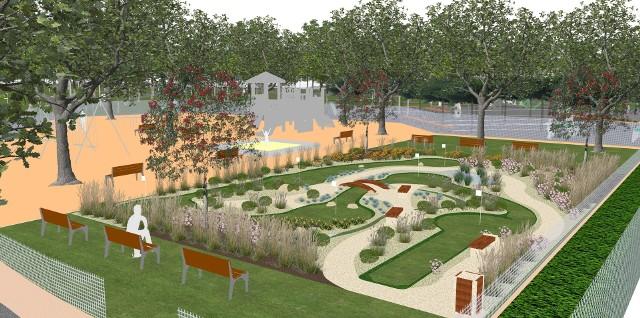 W nowym Parku Kanikowskiego znajdzie się m. in. niewielkie pole do minigolfa