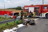 Tragiczny wypadek motocyklisty w Boniowicach na DK 94. Zginął przez kierującą fiatem seicento. Utrudnienie w ruchu