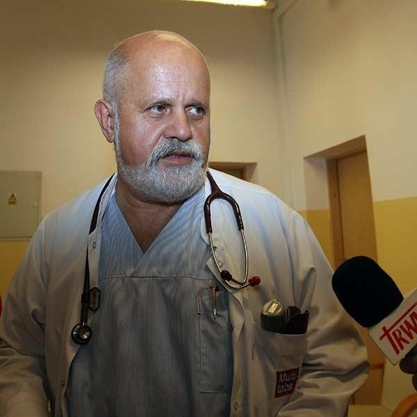 - O ewakuacji na razie nie ma mowy - twierdzi Janusz Witalis, ordynator noworodków z Wojewódzkiego Szpitala Specjalistycznego w Rzeszowie.