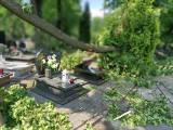 Czy cmentarze są ubezpieczone? Kto ma szanse na odszkodowanie po nawałnicy?