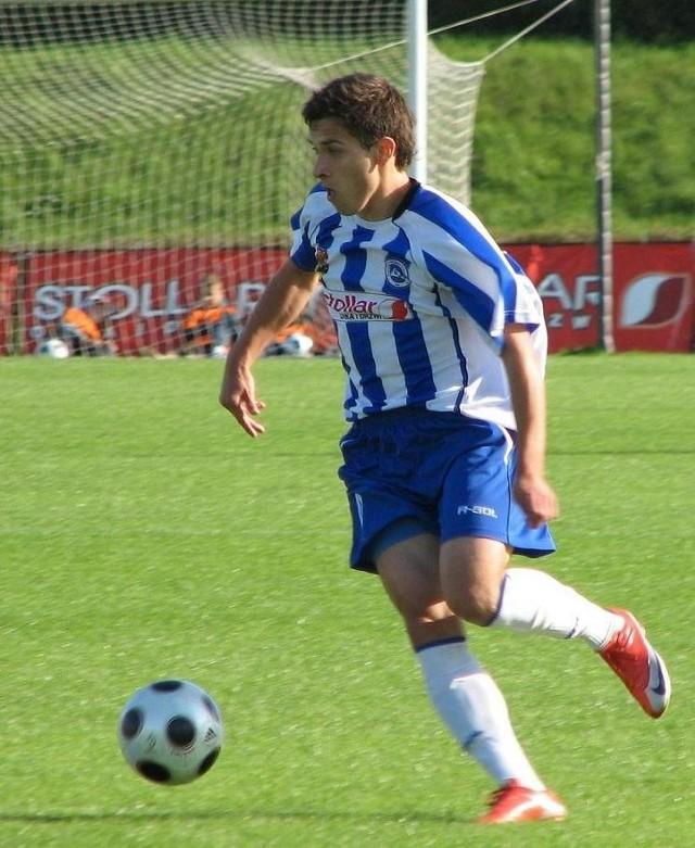 Maciej Makuszewski ostatni sezon spędził w Wigrach Suwałki