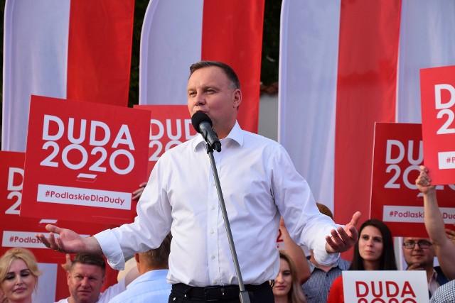 Wybory prezydenckie 2020. Wyniki według exit poll. Andrzej Duda