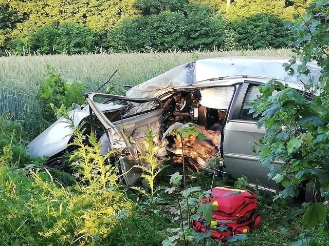 W naszym regionie do tragicznego wypadku doszło między Jezierzycami a Wardyniem Górnym.