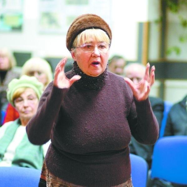 Nie chcemy waszych odszkodowań - mówiła Anna Osipiuk.