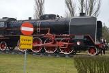 Stare lokomotywy stacjonują na łódzkim Olechowie