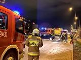 Wypadek w Radwanicach. Droga Wrocław – Oława zablokowana