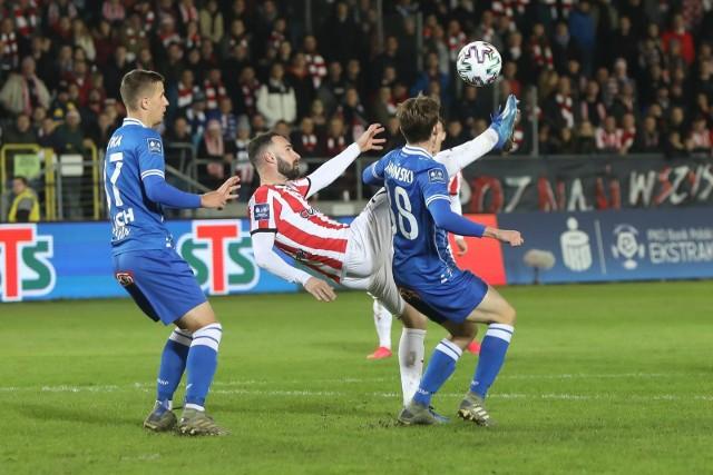 Cracovia już dwa razy w tym sezonie pokonała Lecha Poznań 2:1