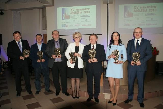 Finałowa gala konkursu Menadżer Zagłębia 2013