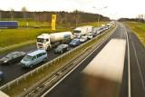 Dwa wypadki na A4. Duże utrudnienia na autostradzie