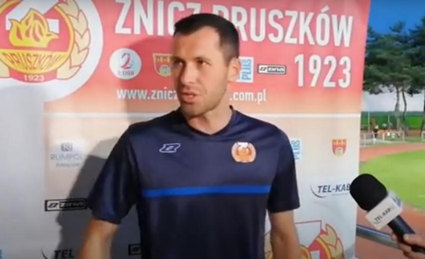 Trener Artur Węska