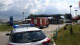 Koce-Basie: Wybuch gazu na stacji benzynowej. Poparzony serwisant trafił do szpitala [ZDJĘCIA]