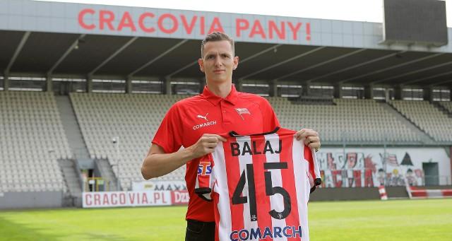 Filip Balaj związał się z Cracovią na trzy lata