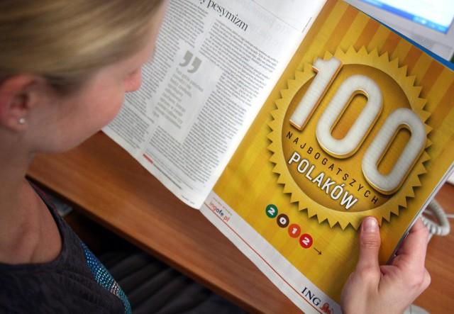 """""""Lista 100 najbogatszych Polaków"""" tygodnika """"Wprost"""" to najstarsze tego typu zestawienie w polskich mediach"""
