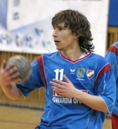 Krzysztof Bujak z Gwardii Opole