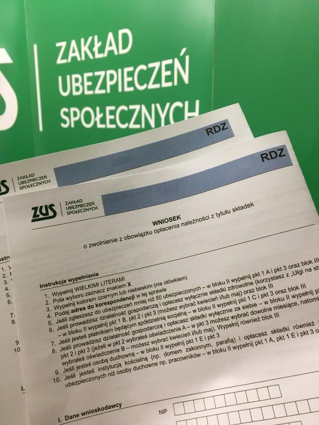 Przypominamy, że za dwa tygodnie - 30 czerwca - upływa termin, w którym można złożyć wniosek o zwolnienie z obowiązku opłacania składek.