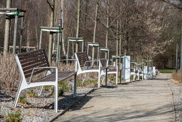 Park Reduta w krakowskiej dzielnicy Prądnik Czerwony