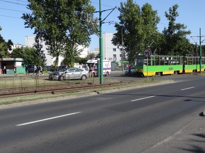 Wypadek na ul. Zamenhofa