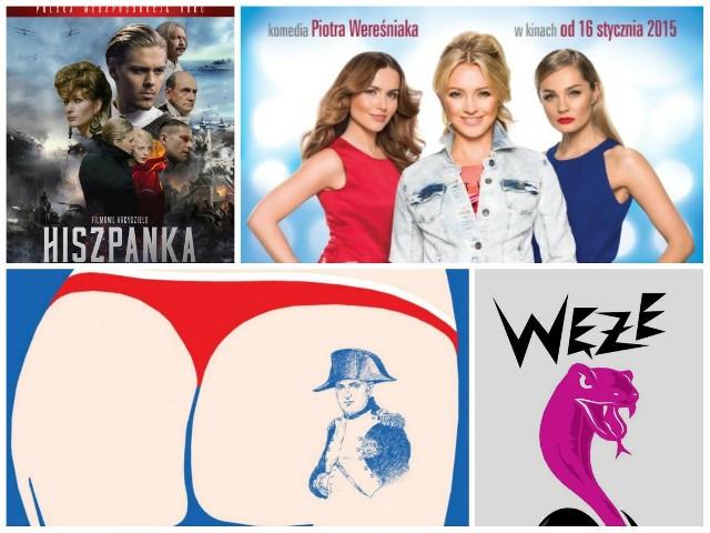 Węże 2016, czyli najgorsze polskie filmy. Oto lista nominowanych!