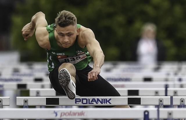 Płotkarz Michał Sierocki, jedna z nadziei polskiej lekkiej atletyki, chce zdobyć medal Mistrzostw Polski do lat 23 w swoim rodzinnym Lublinie