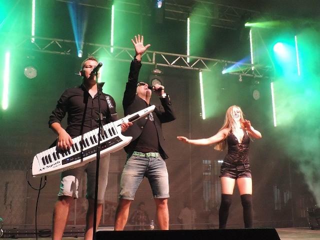 Koncert Andre w Chełmcach.