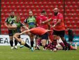 Koronawirus przerwał ekstraligę rugby. Miało być patriotycznie, wyszło dramatycznie