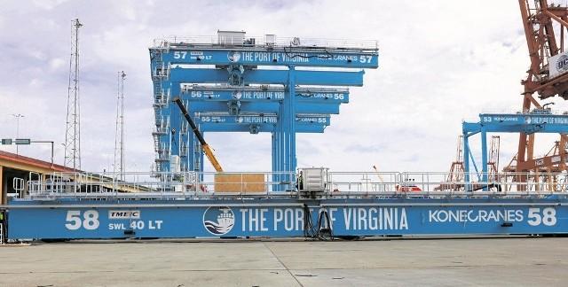 Kontrakt zawarty przez Portowy Zakład Techniczny obejmuje montaż  aż 84 automatycznych suwnic samobieżnych RTG, dostarczanych do dwóch terminali - w Wirginii i w Norfolk