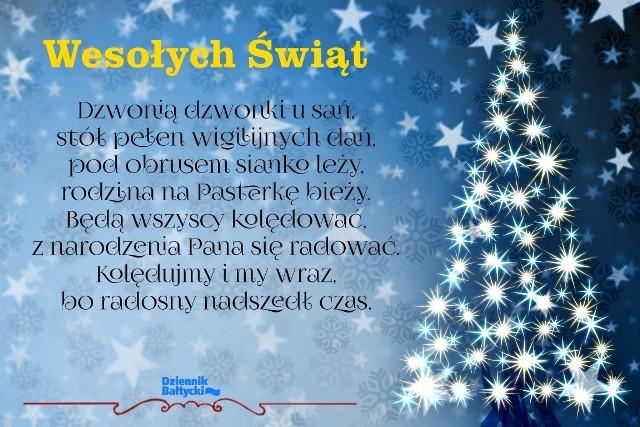 życzenia Na Boże Narodzenie 2019 Tradycyjne Wierszyki Na