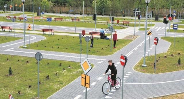 Wielickie miasteczko rowerowe jest jedynym w powiecie i zarazem największym w regionie