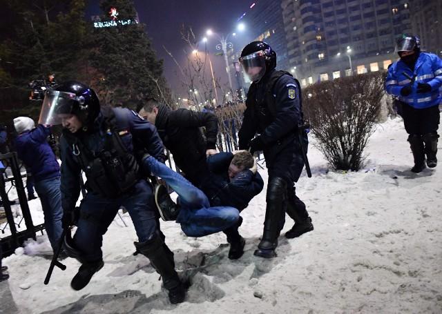 Zamieszki w Bukareszcie