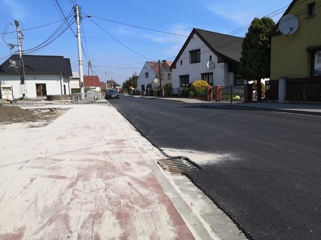 Droga w Starych Siołkowicach jest jak nowa.