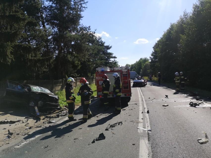 Do śmiertelnego wypadku doszło w Łopatkach w gminie Łask w...