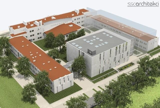 Tak będzie wyglądało Uniwersyteckie Centrum Biznesu w Kielcach.
