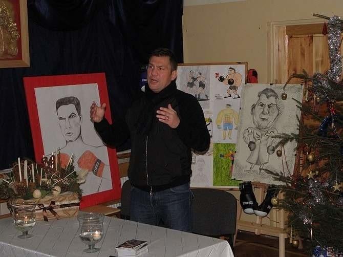 Dariusz Michalczewski w Mogilnie (Kujawsko-Pomorskie)