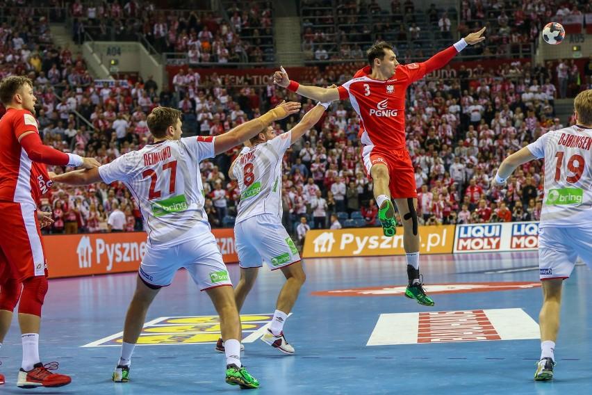Mecz Polska-Norwegia podczas Mistrzostw Europy w piłce ręcznej