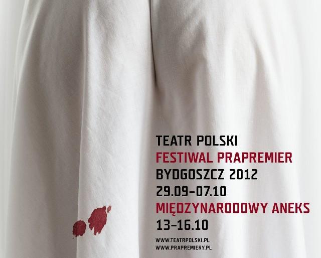 Prześcieradło z plamami krwi dziewiczej jest symbolem Festiwalu Prapremier.