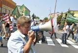 Organizator rolniczych protestów stanął przed sądem!