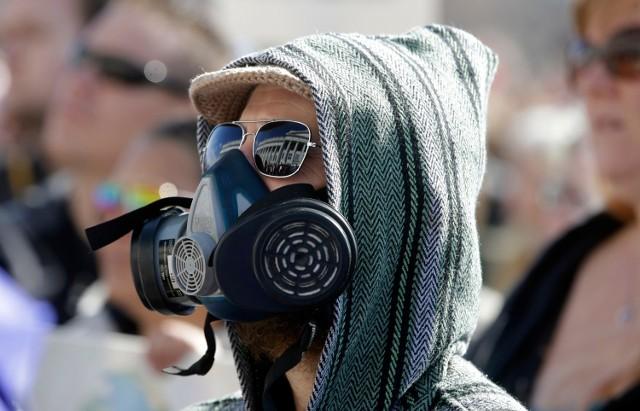 Protest przeciwko smogowi
